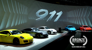PORSCHE 911 CARRERA Launch